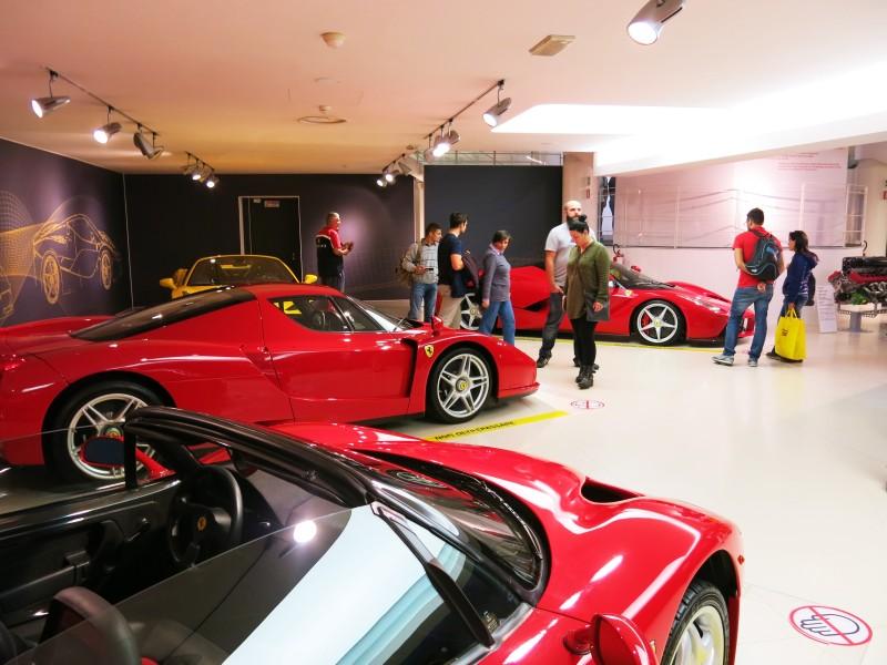 Ferrari muzeu Maranello